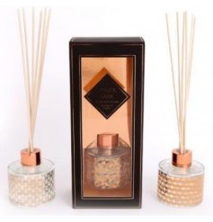 this mix of reed diffusers will be sure to bring a luxury edge to any interior