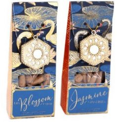 Choose either Jasmine & Gingerlily or Lily Blossom & Cedar Incense Cones to truly enhance your home.