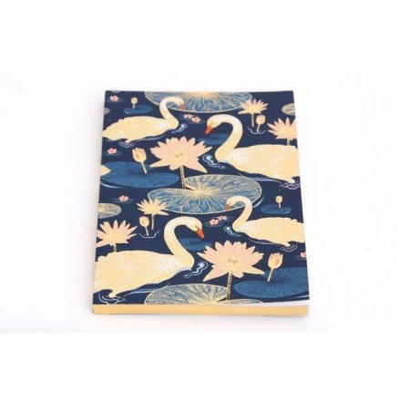 A5 Japanese Swan Notebook