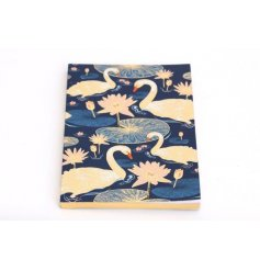 The Japanese Swan A5 Notebook is a stylish place to store your thoughts.