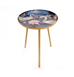 The Swan Side Table is a gorgeous addition to any home.