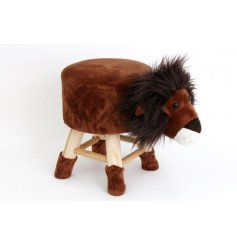 Standing approx 32 cm high, this cuddly Lion Stool will bring joy to young and old