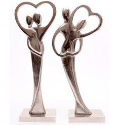 A beautiful assortment of standing ornaments set with an Entwined Couple design