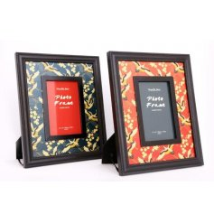 Add a touch of Oriental glamour with this stunning photo frame, suitable for a 6 x 4 image