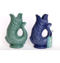 Bring a colourful Koi touch to any home or garden with this assortment of posed Koi Fish Vases
