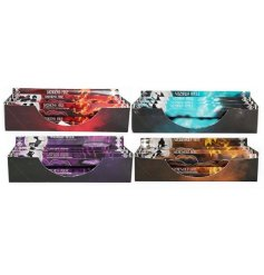 A mix of 4 enchantingly scented incense stick packs, sure to add a magical hint to any home space