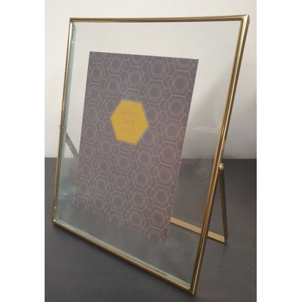 Gold Edge Photo Frame, 5x7