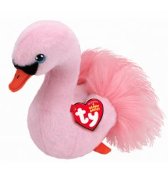 part of the TY Beanie Baby Range, this snuggly swan also has a fuzzy fur tail decal
