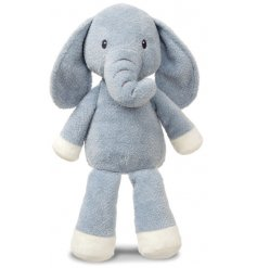 Made with the most huggable and snuggable stuffing and fur, this Elly Elephant will be sure to comfort any newborn