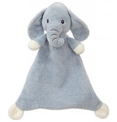 Part of a new range, this Elly Elephant comforter will be sure to make a snuggly companion for any little one