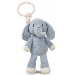 This fuzzy grey Ellie Elephant is made from a super soft and snuggly fabric!