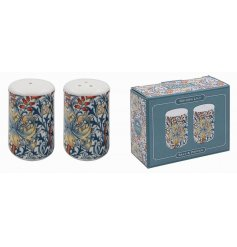 this pretty set of Salt and Pepper Pots will be sure to add a Whimsical inspired feature to any kitchen