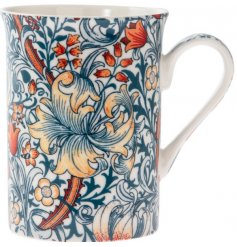 this pretty Fine China Mug will be sure to add a Whimsical inspired feature to any kitchen