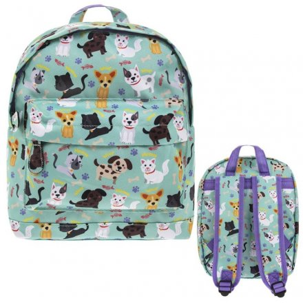 Children's Rucksack, Cats and Dogs