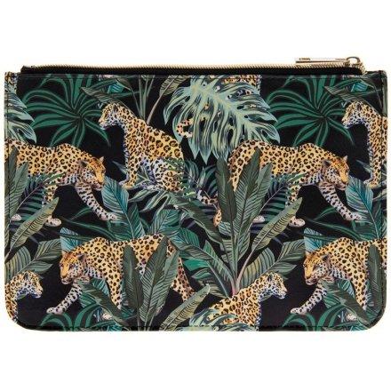 Jaguar Jungle Clutch Bag