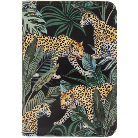 Jaguar Jungle Passport Holder