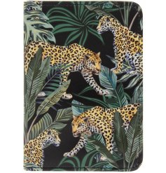 A trending Jungle inspired printed passport cover, sure to add a wild touch to your holidays!