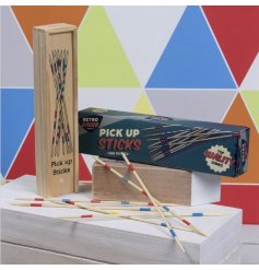 Retro Pick Up Sticks are a colourful addition to the Retro Games collection.