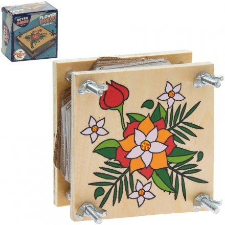 Retro Flower Press
