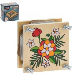 Use the Retro Flower Press to encapsulate a special memory by preserving flowers from the event.