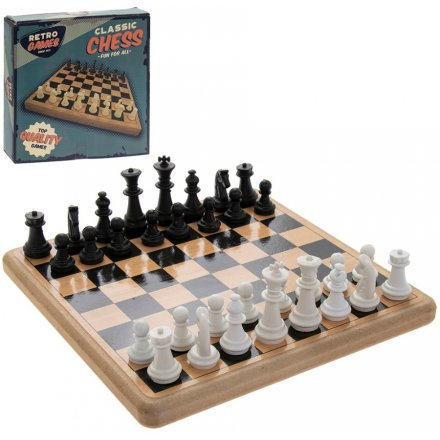 Retro Chess Set