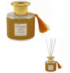 Filled with a sweet salted caramel oil liquid,  this Luxury diffuser will be sure to make a beautiful gift idea for any