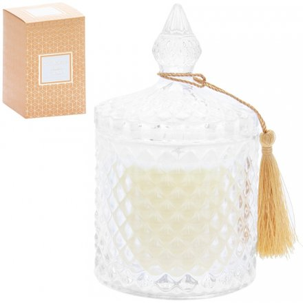 Luxury Ridge Candle Jar - Salted Caramel