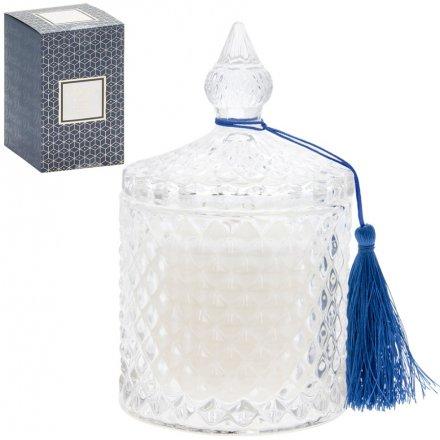 Luxury Ridge Candle Jar - Vanilla Creme