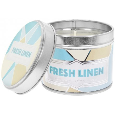 Desire Fresh Linen Candle Tin