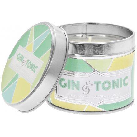 Desire Gin & Tonic Candle Tin