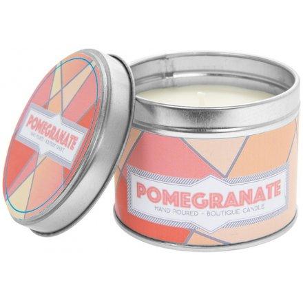 Desire Pomegranate Candle Tin