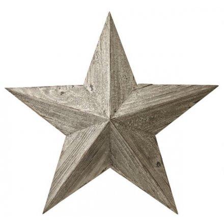 Whitewashed Barn Star
