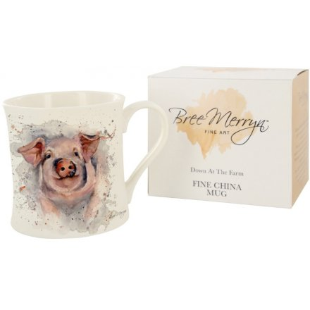 Bree Merryn Patrick the Pig Down At The Farm Mug 9 cm