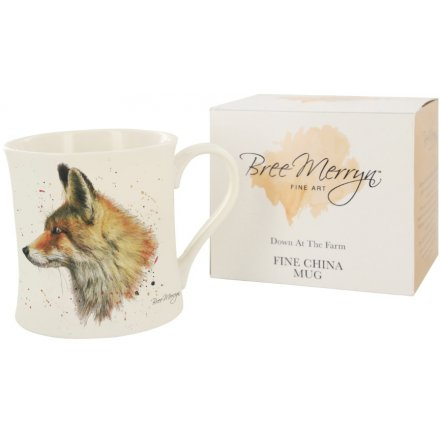 9 cm Fabian the Fox Down At The Farm Mug Bree Merryn
