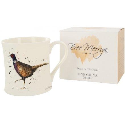 Bree Merryn Phil the Pheasant Down At The Farm Mug 9 cm