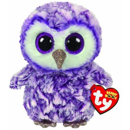 15 cm TY Beanie Boo Moonlight Owl