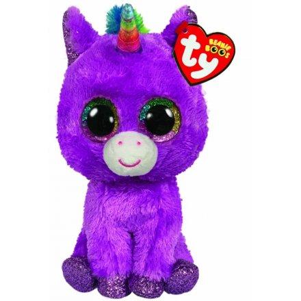 15 cm TY Beanie Boo Rosetta The Unicorn
