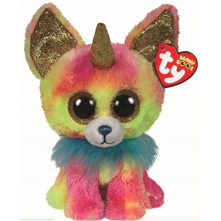 17 cm TY Horned Beanie Boo - Yips Chihuahua