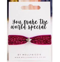 Stretchy Glitter Bracelet - You Make The World Special