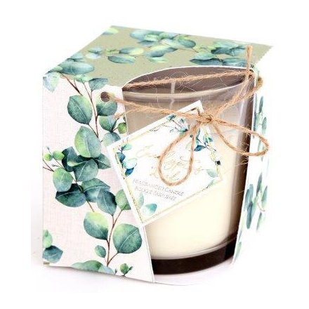 Eucalyptus Life Scented Candle, 8cm