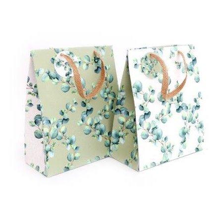 23 x 19 cm Medium Gift Bag Eucalyptus
