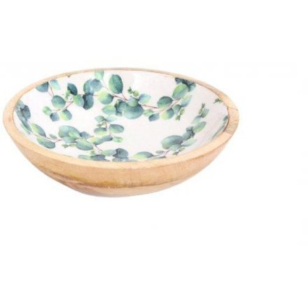 25 cm Chunky Wooden Bowl Medium Eucalyptus