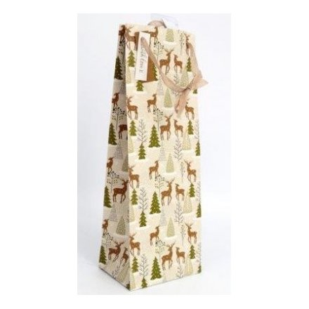 Fig And Wood Sage Printed Bottle Bag