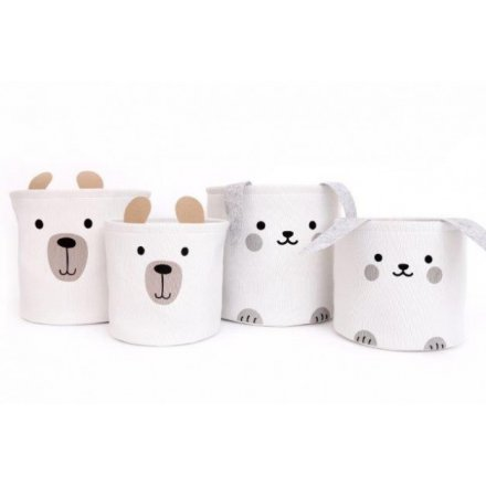 Bunny And Bear Basket Sets