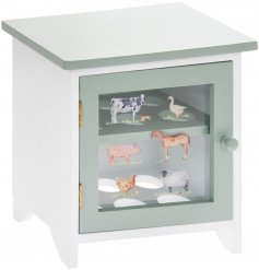 Attractive Wooden Egg Storage Cabinet with 12 egg capacity, part of the Country Life Farm range