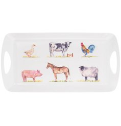 Medium sized plastic tray from the Country Life Farm range