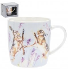 this Hares mug from the Country Life kitchenware range will be sure to place perfectly in any home
