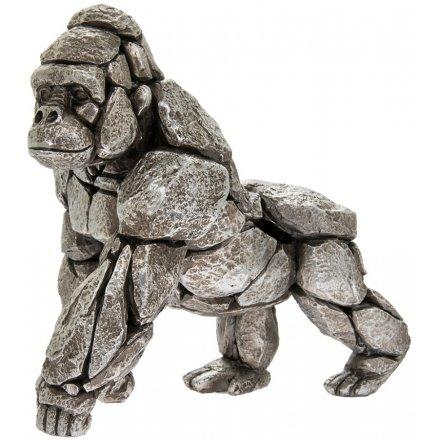 Large Natural World Gorilla 24 cm