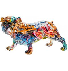 this ornamental dog figure will be sure to bring an added charm to any industrial themed room