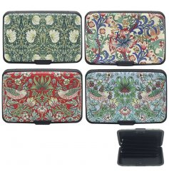 Combine security and elegance with these stylish Floral Design Card Protectors